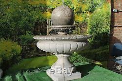 Nombreux, Hampshire Garden Boule Fontaine D'eau Caractéristique Pompe Solaire