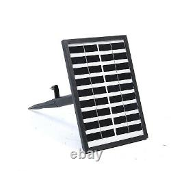 Patio Solar Waterfall Water Feature Led Light Outdoor Garden Fontaine Statue Déc
