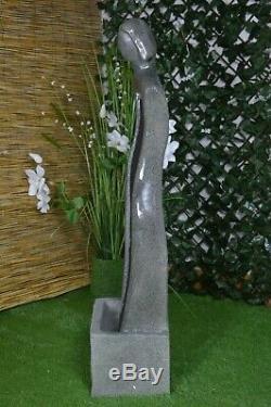 Pierre De Fibre De Led Haute De Statue De Jardin D'intérieur De Fontaine De Fontaine D'intérieur Indépendante