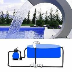 Piscine Fontaine D'eau En Acier Inoxydable Étang Jardin Piscine Cascade Hardware