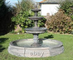 Piscine Romford Surround 3 Tiotsed Edwardian Stone Jardin Eau Fontaine