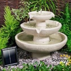 Plan D'eau Solaire Jardin Fontaine D'eau En Cascade Patio Détente