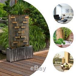 Pompe À Eau En Cascade Extérieure Intérieure De Fontaine De Jardin 6 W Home Decor De Patio