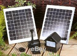 Pompe À Eau Pour Jardin À Piles À Énergie Solaire Pour Piscine