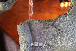 Pot À Eau Caractéristique Fontaine Cascade Classique Poterie Effet Poterie Jardin
