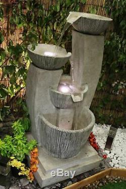 Pots Vénitien Contemporain Jardin D'eau Caractéristiques, Fontaine D'extérieur Great Value