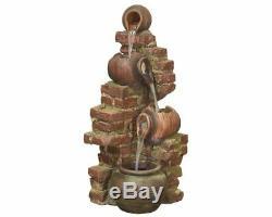 Qui Coule Carafes Facile Fontaine De Jardin D'eau Caractéristiques