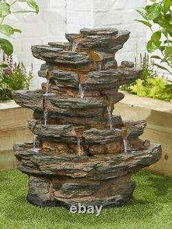 Red Rock Springs Inc Led Par Kelkay Easy Fountain Water Feature 45203l