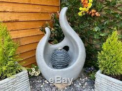 Résumé Flame Jardin D'eau Caractéristiques, Énergie Solaire Extérieure Fontaine Great Value
