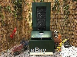Ripple Piscine Jardin Mur Contemporain Eau Caractéristique, Fontaine D'extérieur