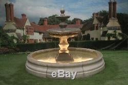 Romford Piscine Surround, Grand Bowl Regis Fontaine, Jardin Fontaine D'eau Caractéristiques