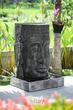Satu Bumi Grand Extérieur Khmer Bouddha Fontaine En Pierre En Pierre Caractéristique Jardin Statue