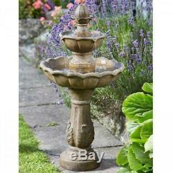 Smart Garden Kingsbury Fontaine D'eau Jardin Ornement De Fonction
