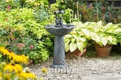 Smart Garden Solar Frog Frolics Parapluie Fontaine D'eau De Jardin