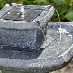 Smart Jardin D'eau Solaire Caractéristiques Pagode Fontaine D'eau