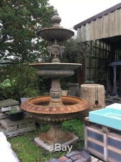 Style Victorien En Fonte Fontaine D'eau
