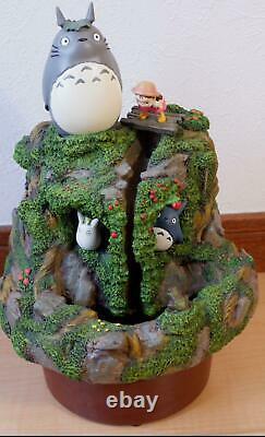 Totoro Jardin Fontaine D'eau Limitée Rare Anime Du Japon Livraison Gratuite