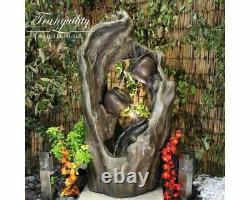 Trio Woodland Woodland Eau Feature, Caractéristiques Eau Extérieure, Jardin Fontaine