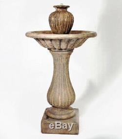 Vase Fontaine De Jardin Et Aménagement Paysager Caractéristiques De L'eau En Selle