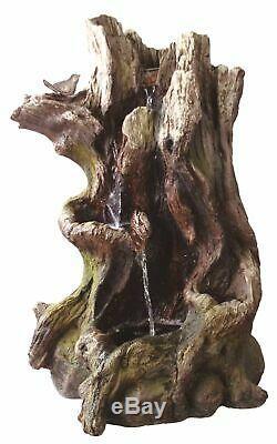 Willow Renverse Une Caractéristique De L'eau, Solaire, Fontaine De Jardin, Une Caractéristique De L'eau De Kelkay, Solaire