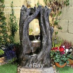 Windor Woodland Water Garden Feature, Fontaine D'extérieur Great Value Livraison Rapide